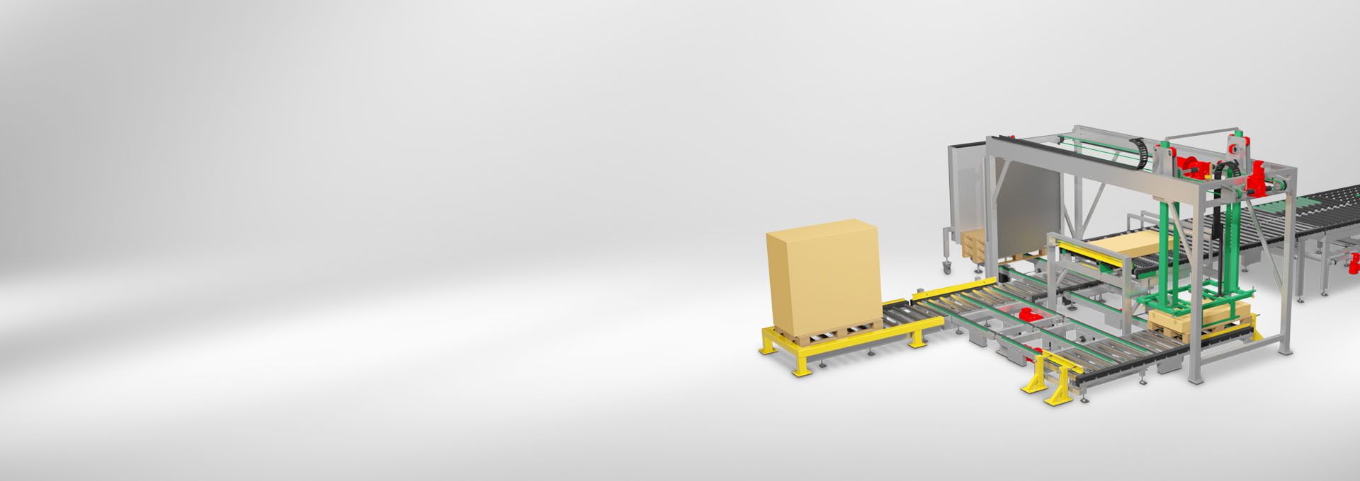 conveyors for interior fittings, façade construction and insulation technology