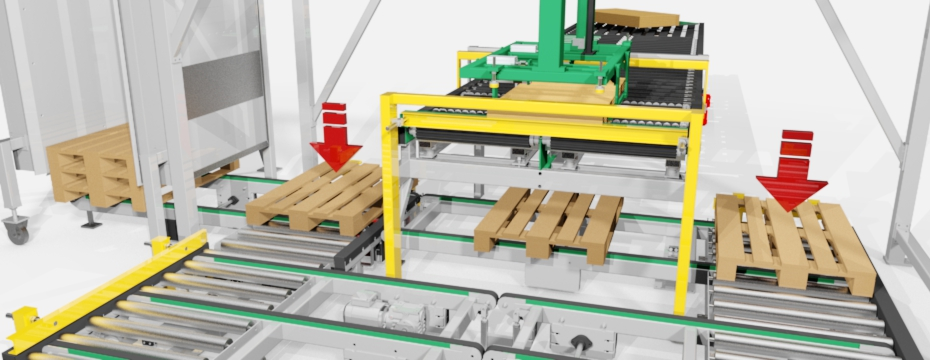 down roller conveyor