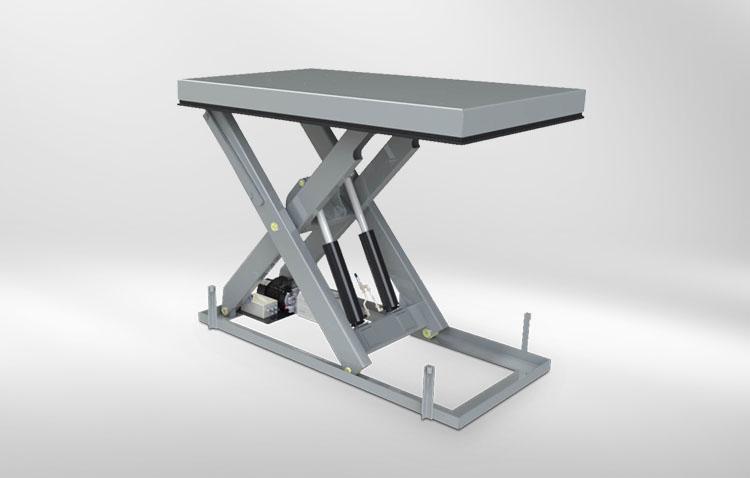 single scissors lift table