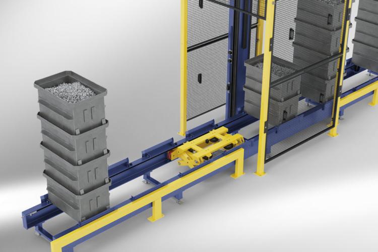 lagertechnik flexshuttle Anfahrschutz