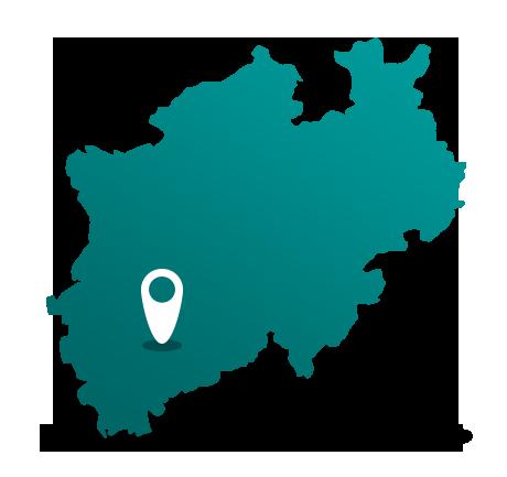 landkarte türkis