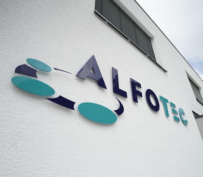 alfotec unternehmensgebäude von außen