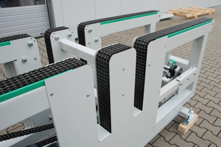 Kettenförderer Ausschnitte Umlenkungen Duplexkette