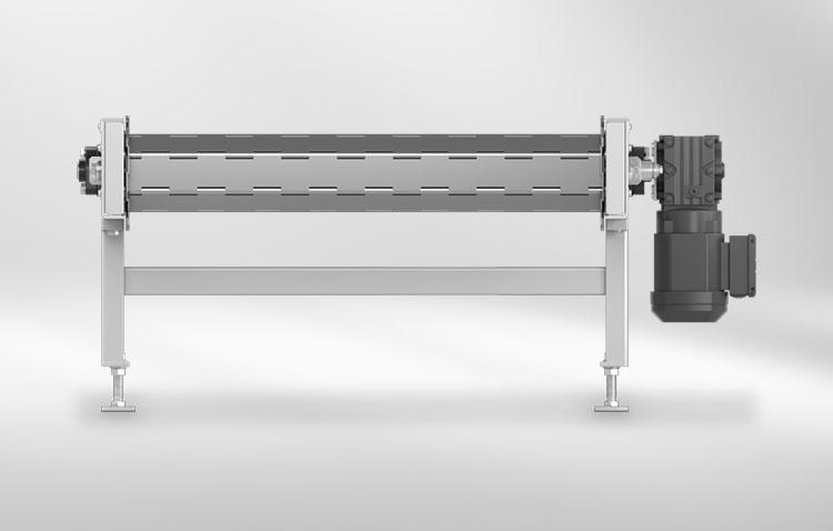 slat conveyors lateral