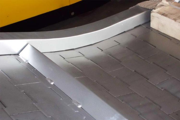 plate belt conveyor