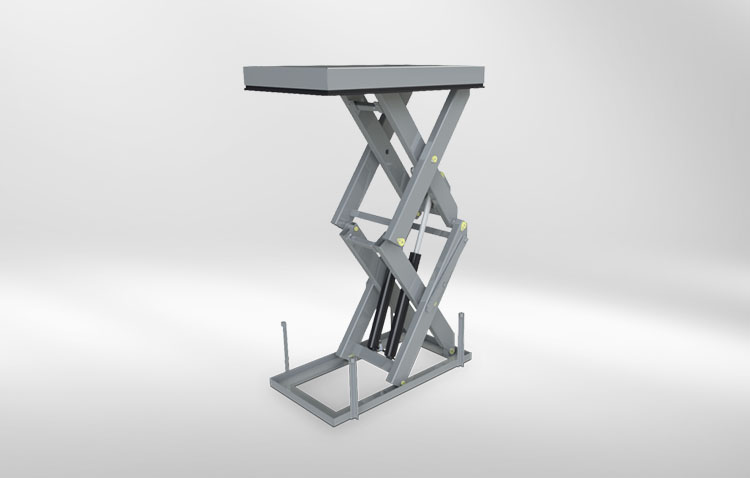 lifting technology multiple scissors lift table