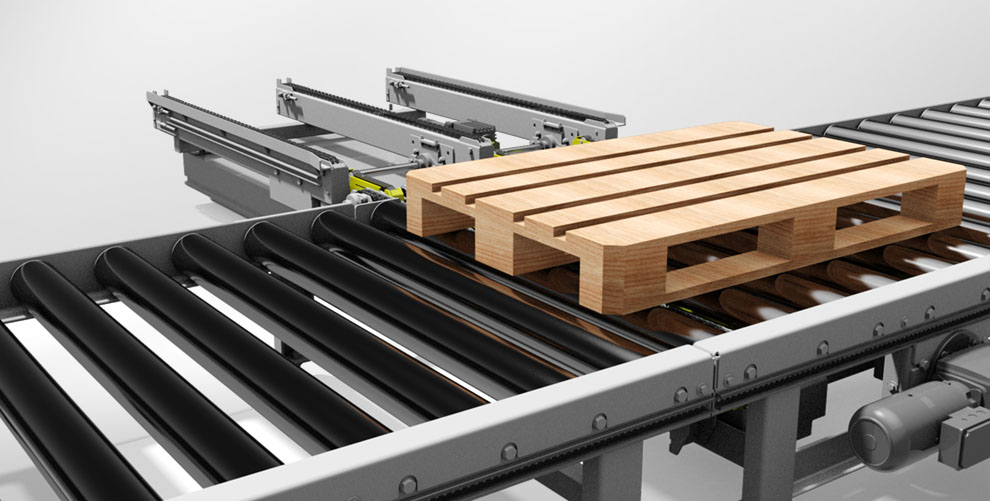 chain ejector pallet