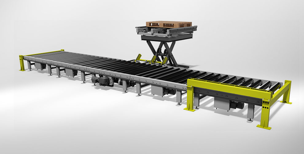 conveyor technology for pallets