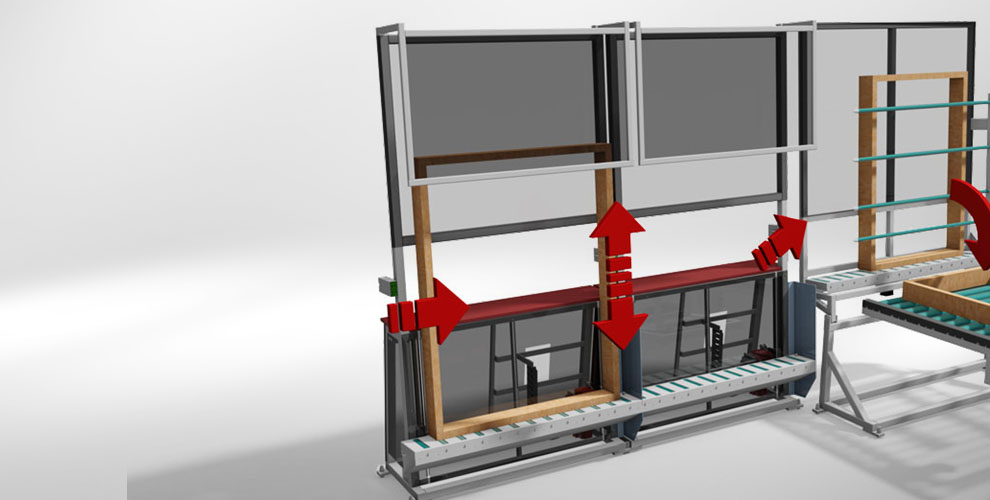 conveyor system to assembly line building accessories