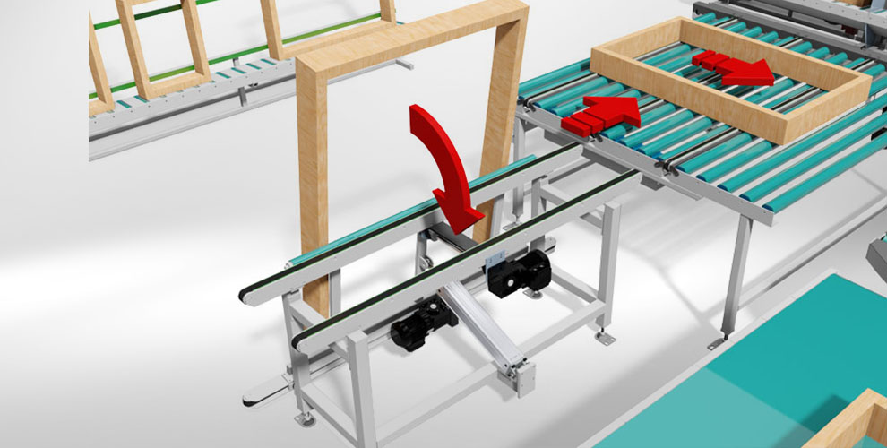 conveyor system to the assembly line construction accessories