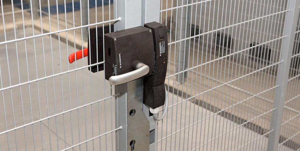 Verriegelung Tür Sicherheitszuhaltung