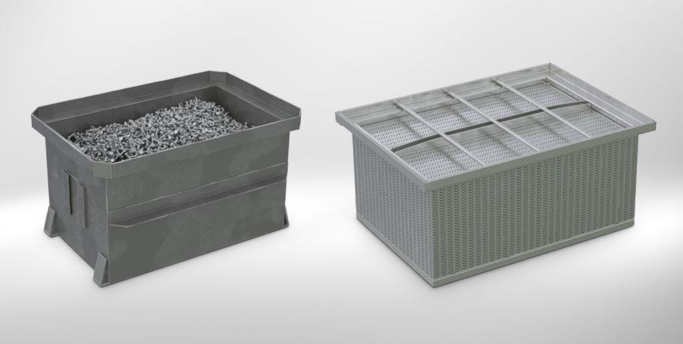 Schrauben Waschbox Transportkiste