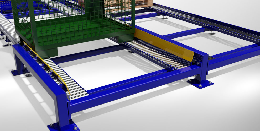 conveyor system with conveyor belts