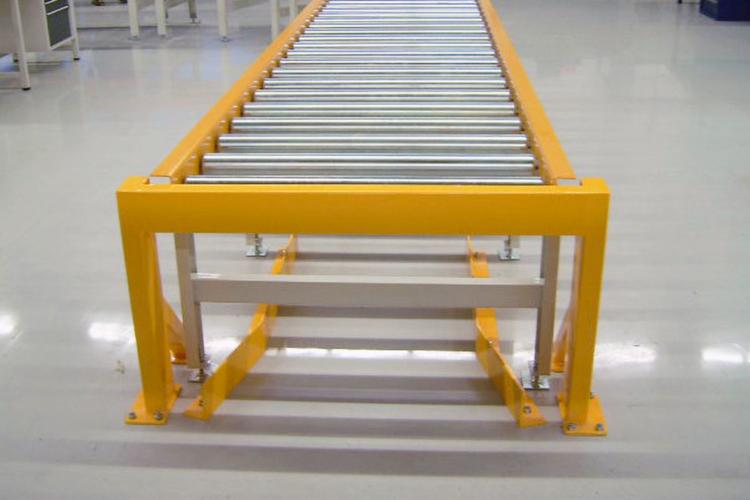 rollenbahn gelb