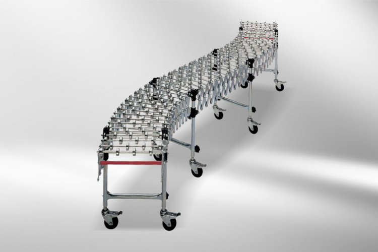 Shears roller conveyor