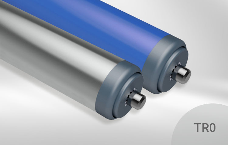carrier rollers blue grey