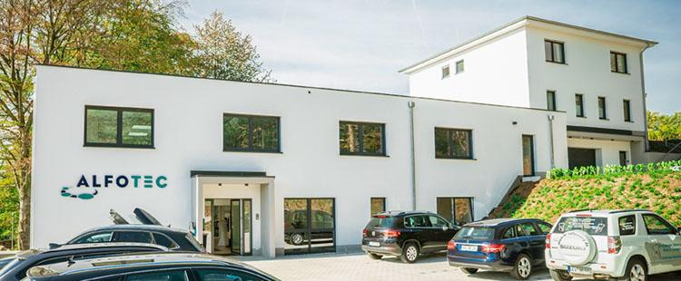 alfotec unternehmensgebäude von außén