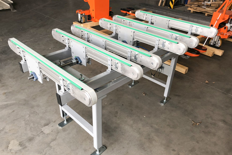 Timing belt conveyor