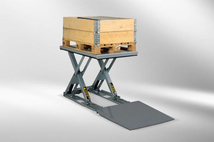 flatform lift table transported box