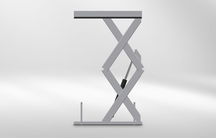 multiple scissors lift table