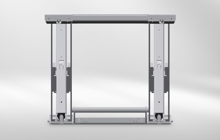 u shape lifting table