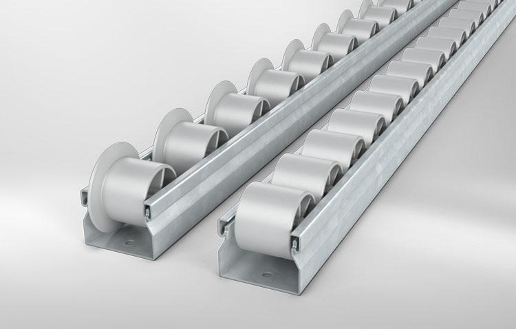 roller bars grey