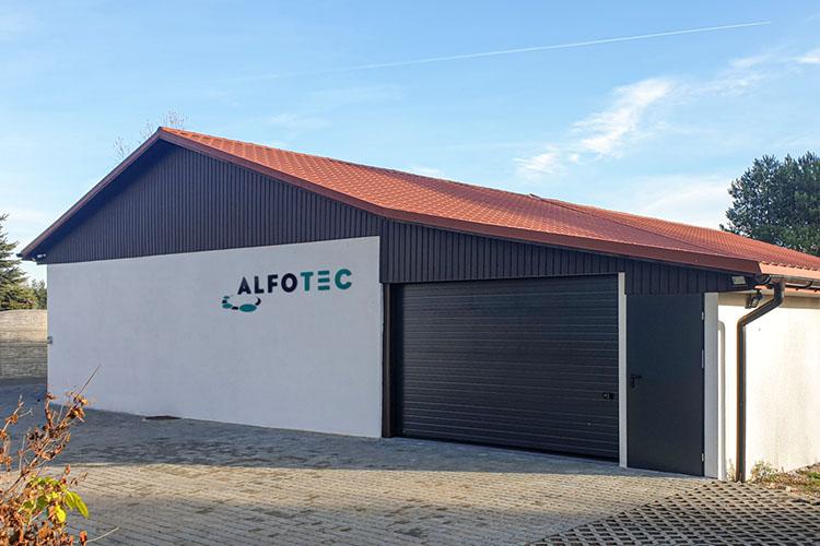 alfotec standort polen unternehmensgebäude