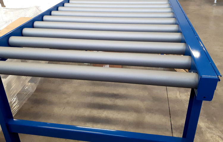 coated roller conveyor