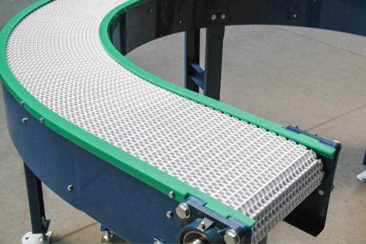 apron conveyor curve