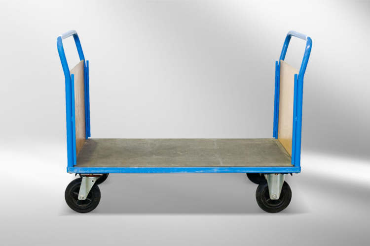 Bock- und Lenkrollen Rollwagen