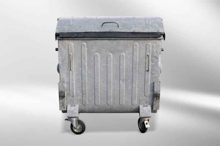 Lenkrollen Feststellbremse Container